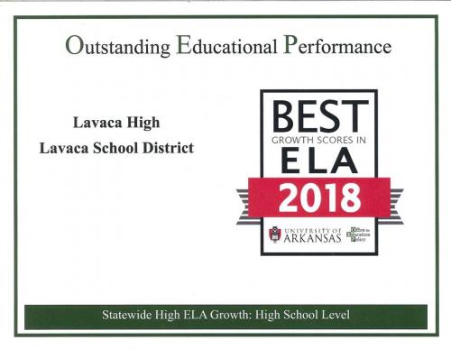 Outstanding educational performance