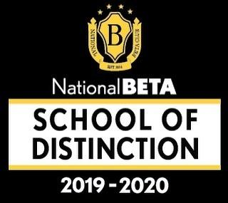 Beta Club school of Distinction
