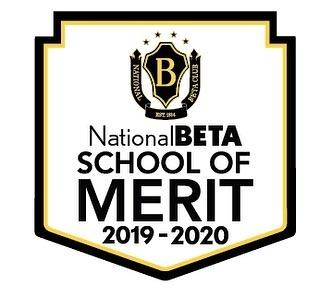 Beta Club school of Merit