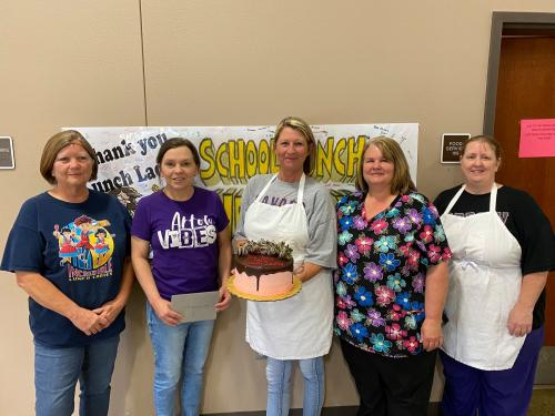 Happy School Lunch Hero Day to our awesome cafeteria staff!