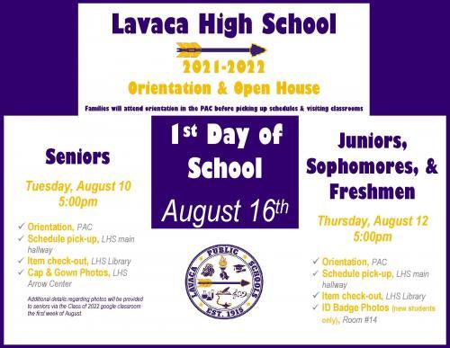 LHS Orientation