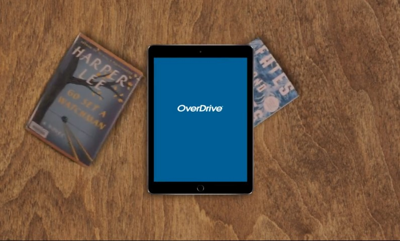 Click Overdrive to learn now to use this app on different devices.
