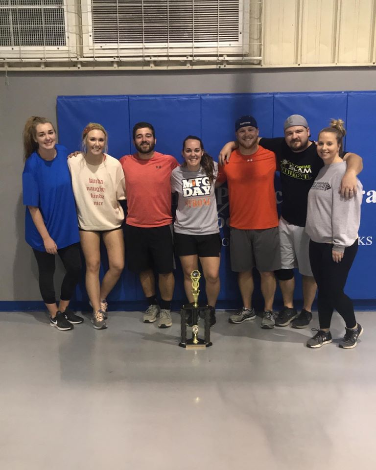CoEd Volleyball Champs Natural Disaster