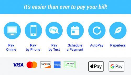 It's easier than ever to pay your bill!