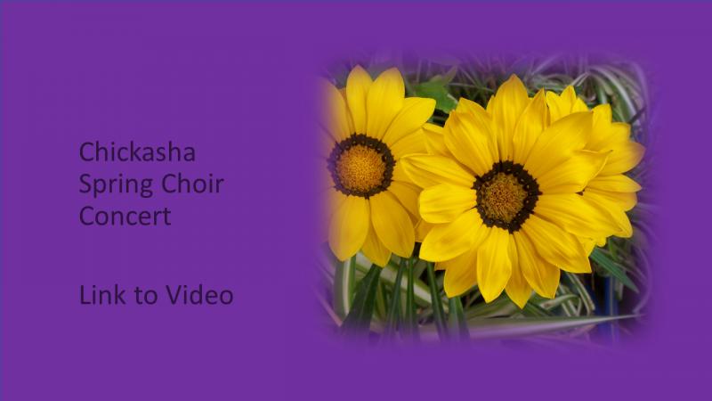 Chickasha Spring Choir Concert