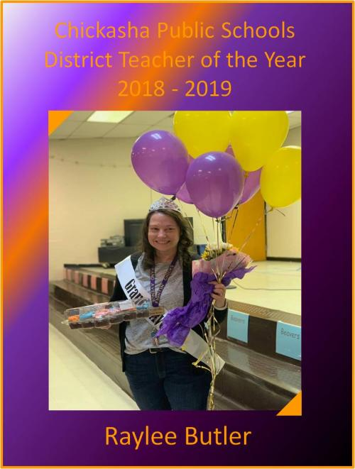 District Teacher of the Year - Raylee Butler