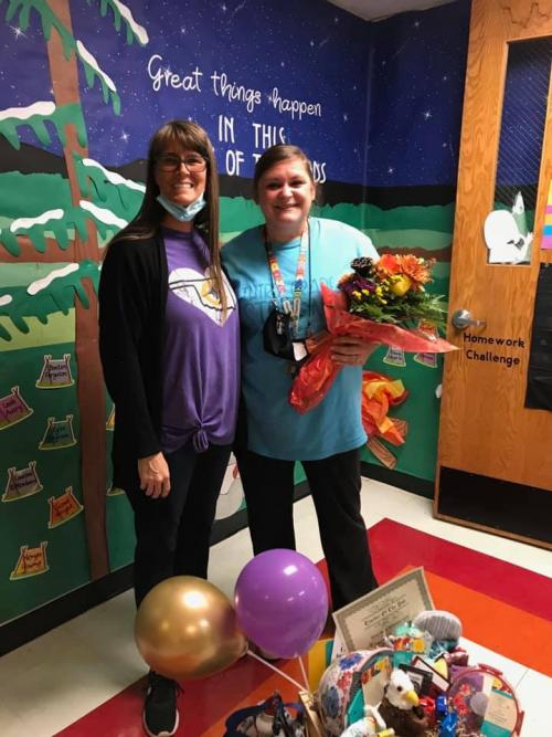 Jennifer Phillips - Teacher of the Year
