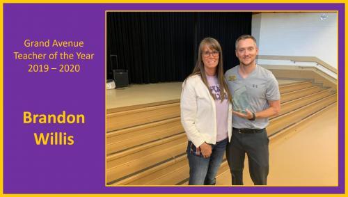 Grand Avenue Teacher of the Year