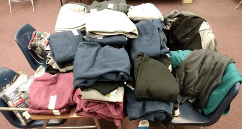 Clothes Closet Items