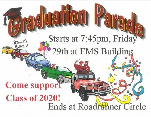 Graduation Parade Flyer