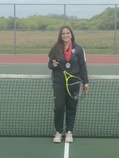 Hanna - Girl's Singles Second place
