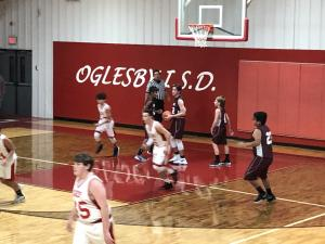 Jr High Boys vs Oglesby