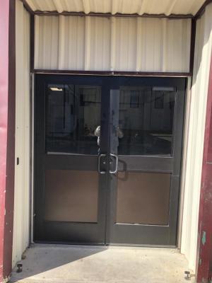 New Weight Room Doors