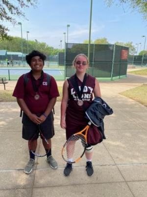 Mario and Trinidy - Mixed Doubles 3rd Place