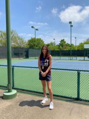Jacy - Girl's Singles District Champion
