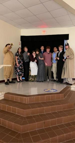 One Act Play Cast