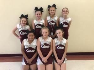 2021 Junior High Cheerleaders