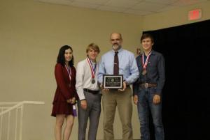 District Champion Calculator Team
