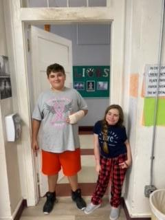 Homecoming Week - PJ Day