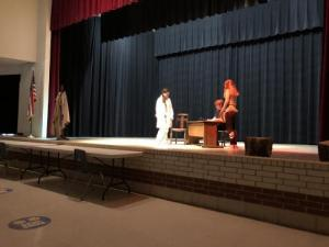 Students Performing Play