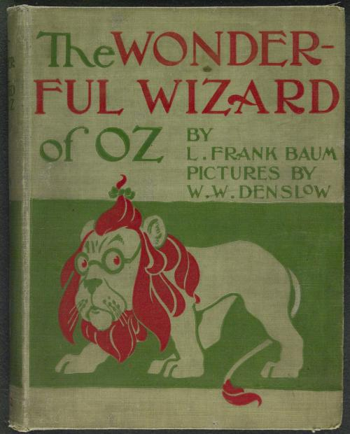 Wonderful Wizard of Oz Book Cover