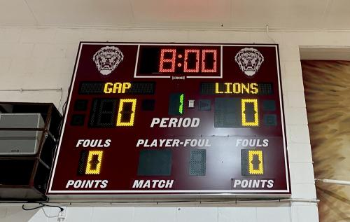New Basketball Scoreboard