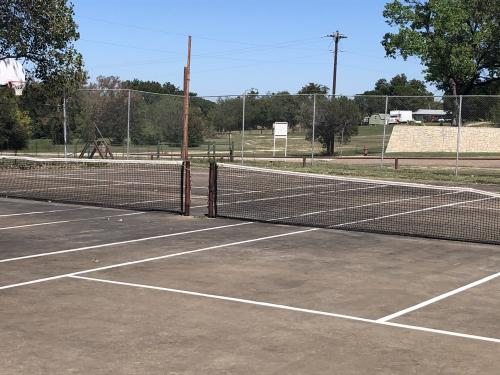 Cranfills Gap ISD Tennis Courts