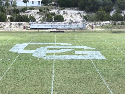 Cranfills Gap ISD Football Field