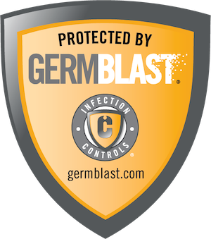 Protected by GERMBLAST infection controls germblast.com