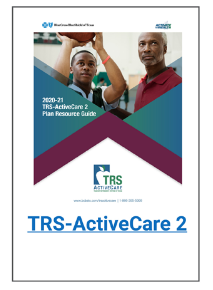TRS-ActiveCare 2