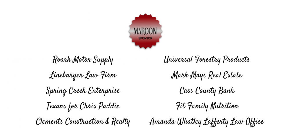 Maroon Sponsor