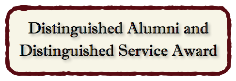 Distinguished Alumni & Service Award