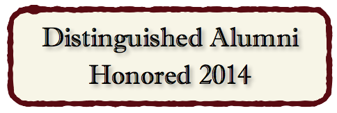 Distinguished Alumni Honored 2014