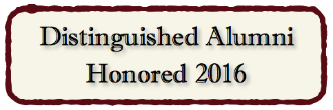 Distinguished Alumni Honored 2016