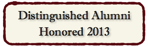 Distinguished Alumni Honored 2013