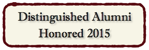 Distinguished Alumni Honored 2015