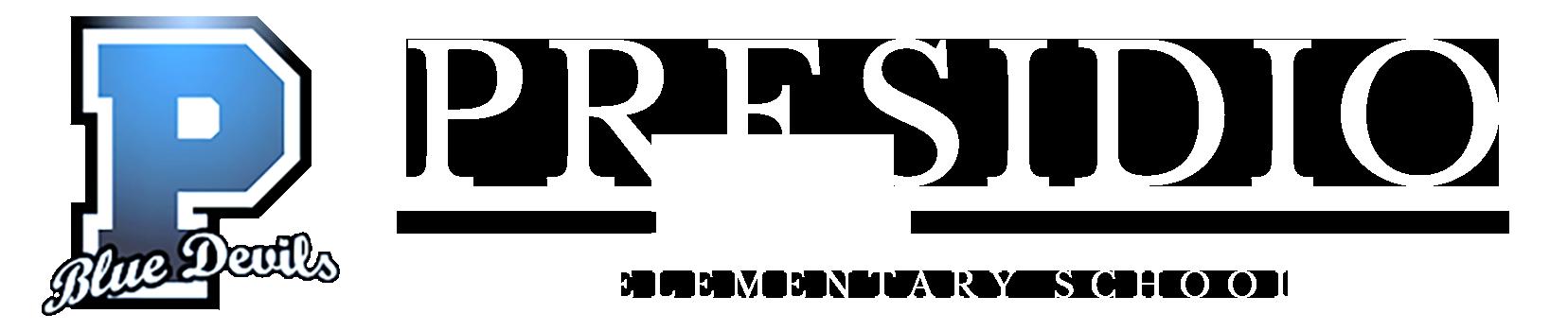 PRESIDIO ELEMENTARY SCHOOL Logo