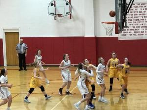 High school girls basketball vs. Fairview