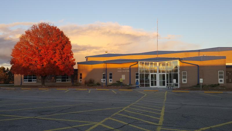 Landscape View facing Junior/Senior High School