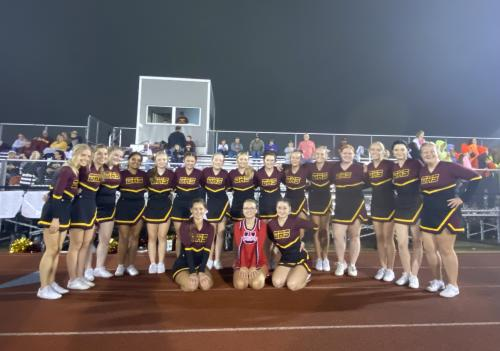 Denver Cheerleaders/Union Cheerleader