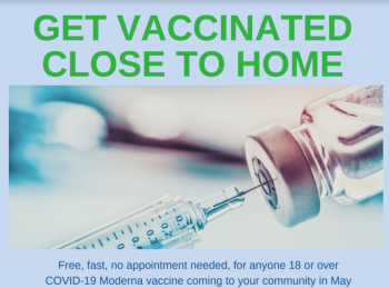 Get Vaccinated Close to Home!
