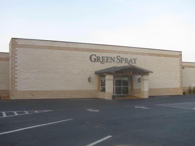 An Image showing Green Spray Food Center