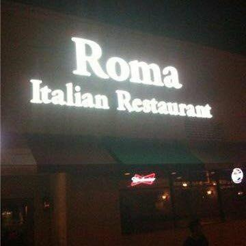 An Image showing Roma Italian Restaurant