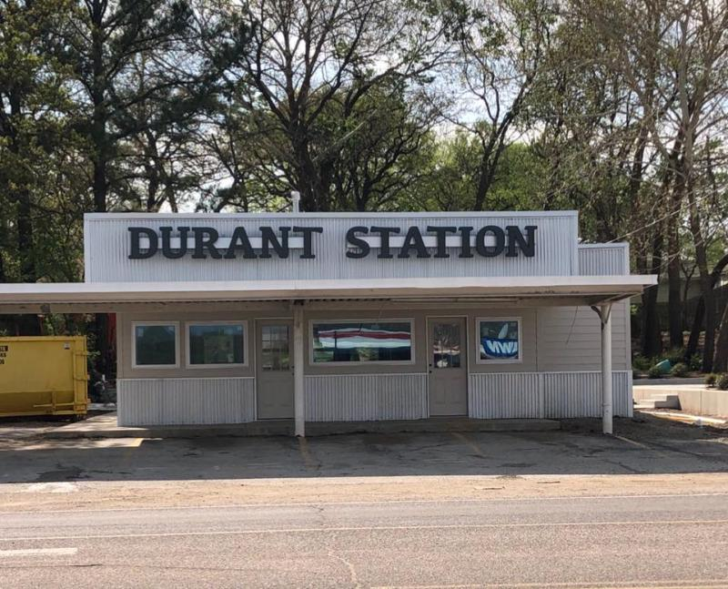 An Image showing Durant Station