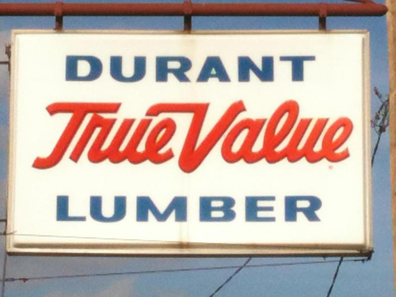 An Image showing Durant True Value Lumber