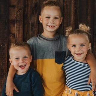 David's three grand kids.