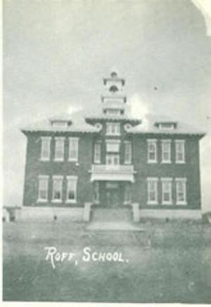Roff School 1908