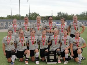 Class A Fast Pitch State Runner Up 2011
