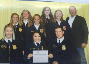 FFA Officers attend Colt Leadership Confernce