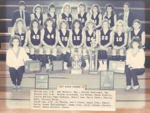 1987 State Runner Up